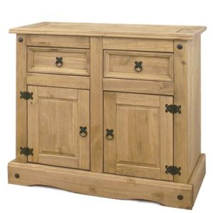 Corona Mexican Pine 2 Door 2 Draw Sideboard