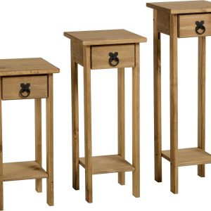 Corona Mexican Pine Plant Stands