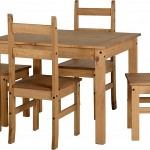 Corona Mexican Pine Dining Set