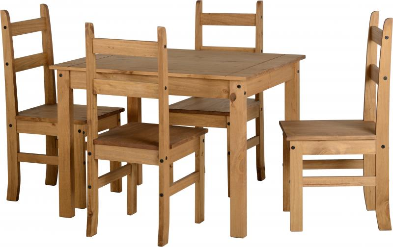 Corona Mexican Pine Dining Set One Stop Furniture Shop