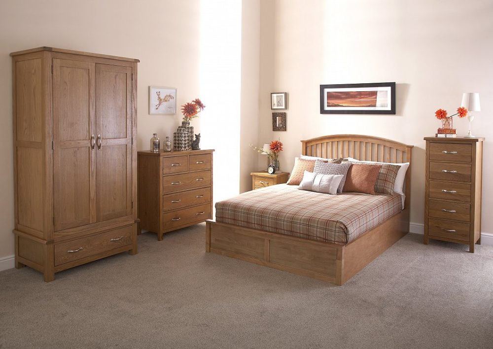 Medium Oak Bedroom Furniture Sonoma Oak Finished Bedroom Furniture One Stop Furniture Shop