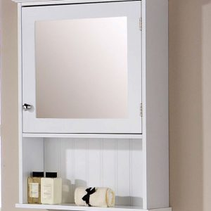 White Mirrored Cabinet