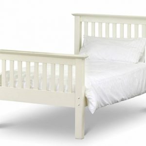 3' Single Wooden High End Bed frame - White
