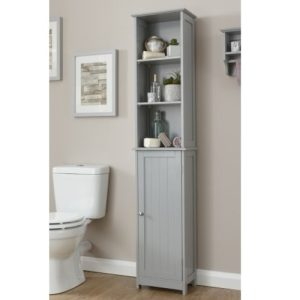 Grey Tall Cupboard