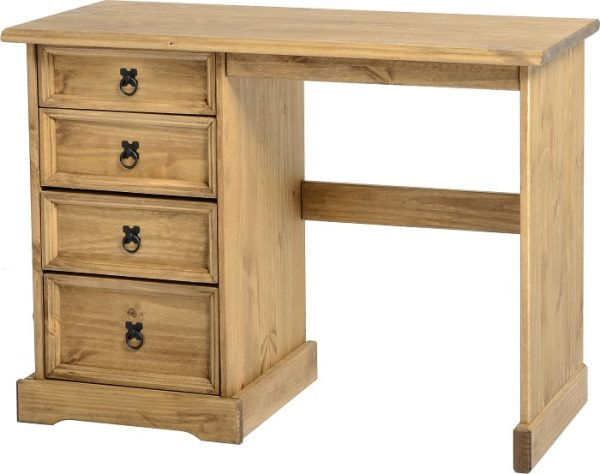 Corona Mexican Pine 4 Draw Dressing Table