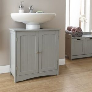 Grey Bathroom Under Basin Unit - Colonial Bathroom Furniture