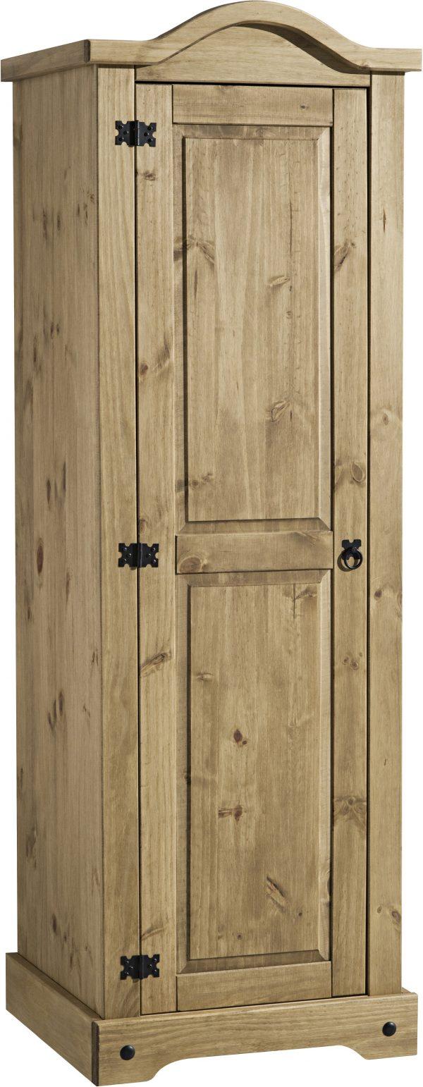 Corona Mexican Pine 1 Door Wardrobe