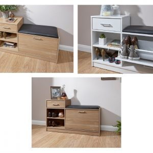 Malmo Shoe Bench - 3 Colours Available *BRAND NEW*
