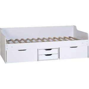 Dante White Storage Day Bed Frame