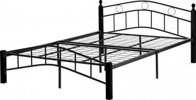 Luton Black Metal Bed Frame