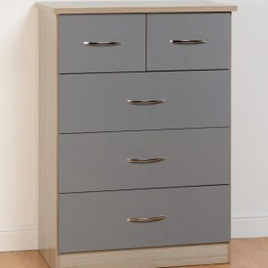 Nevada Gloss Chest Of Drawers