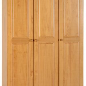 Sol Antique Pine 3 Door Wardrobe