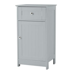 Alaska Bathroom 1 Draw 1 Door Storage Unit - Available In Grey Or White