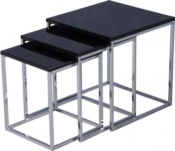 Charisma High Gloss Nest Of Tables