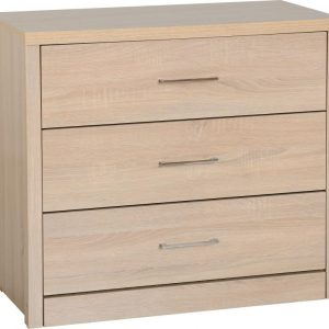 Lisbon 3 Drawer Chest