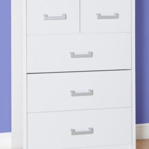 Charley White 3+ 2 Drawer Chest
