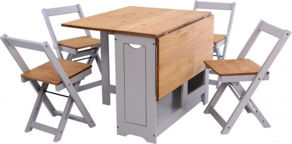 Santos Butterfly Grey Dining Set *BRAND NEW*