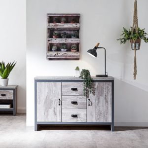 Boston Grey Livingroom